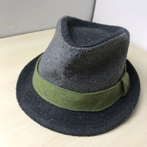 New Era EK Collection Classic Fedora 2 Tone Gray